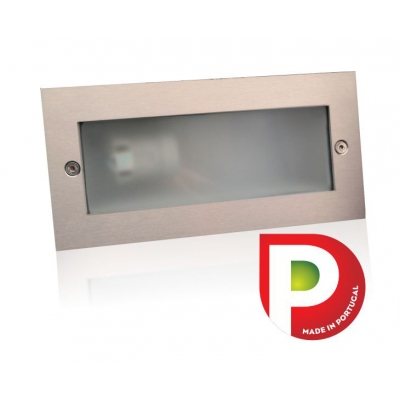 Outdoor Wall Light E27 Brushed ESL7002IN