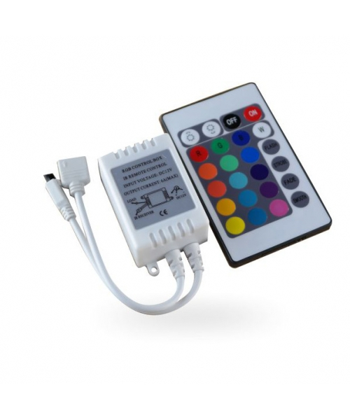 LED Tape RGB Infrared Controller