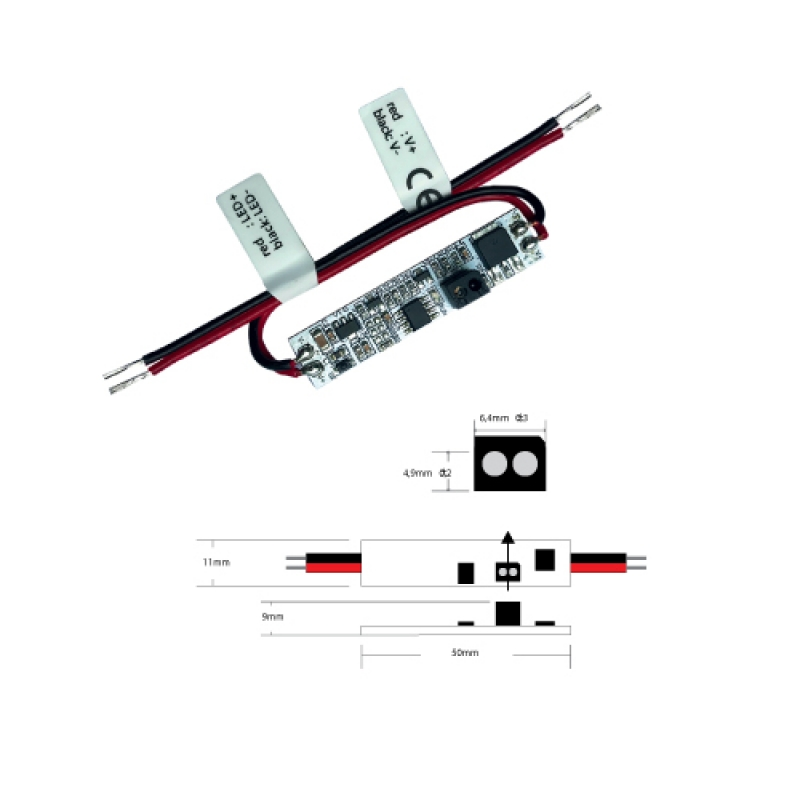 Hand operated ON / OFF switch ESL6803